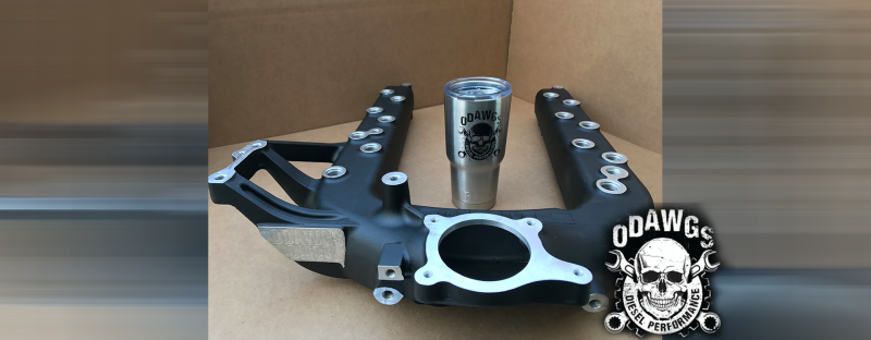 O Dawgs Diesel Stage 3 Ported Intake Manifold