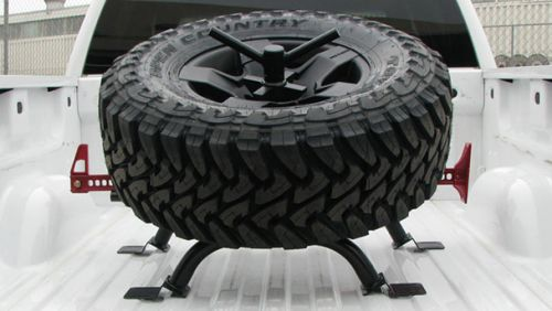 TRUCK BED ACCESSORIES - TIRE MOUNTS