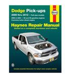 TOOLS & GARAGE - REPAIR MANUALS