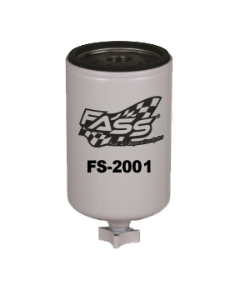 FASS Fuel Systems - FASS Fuel Systems FS-2001 Old** Titanium Water Separator (Blue Model)