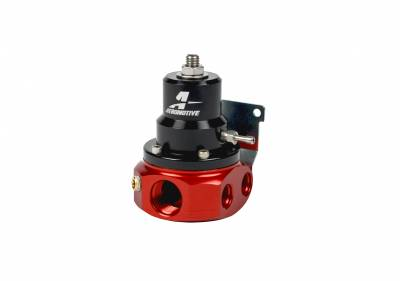 Fuel System - Fuel Pressure Regulators - Aeromotive Fuel System - Aeromotive Fuel System A1000 4-Port Carbureted Bypass Regulator, 4 x AN-06, 1 x AN-10 13224