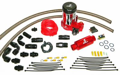 SHOP BY PART - Lift Pumps - Aeromotive Fuel System - Aeromotive Fuel System A2000 Drag Race Pump Only Kit Includes(lines,fittings, hose ends and 11202 pump) 17202