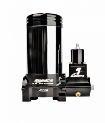 SHOP BY PART - Lift Pumps - Aeromotive Fuel System - Aeromotive Fuel System A3000 Drag Race Carbureted Fuel Pump; Regulator Only (Pre-Filter NOT Included) 11222