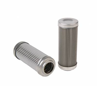 Aeromotive Fuel System - Aeromotive Fuel System 100 micron stainless element for 12302 filter, also fits 12310,12352,12360 12602