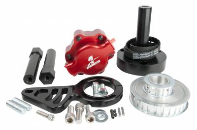 SHOP BY PART - Lift Pumps - Aeromotive Fuel System - Aeromotive Fuel System B.B Chevy Belt Drive Installation Kit (11105 pump, pulleys, bracket, hardware) 17241