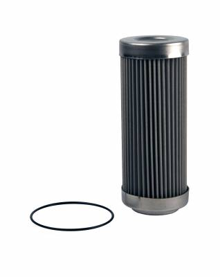 Fuel System - Filters - Aeromotive Fuel System - Aeromotive Fuel System Filter Element, 40 Micron Stainless Steel (Fits 12342) 12642