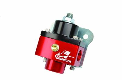 Fuel System - Fuel Pressure Regulators - Aeromotive Fuel System - Aeromotive Fuel System Carbureted Adjustable Regulator, Billet 2-Port AN-6 13201