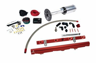 SHOP BY PART - Lift Pumps - Aeromotive Fuel System - Aeromotive Fuel System System, C6 Corvette, 18670 A1000, 14114 LS-2 Rails, 16306 PSC; Misc. Fittings 17175