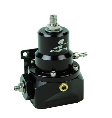 Fuel System - Fuel Pressure Regulators - Aeromotive Fuel System - Aeromotive Fuel System Dual Adjustable Alcohol Log Regulator For Belt and Direct Drive Mechanical Pumps 13214
