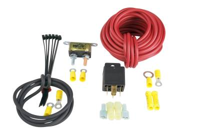 SHOP BY PART - Fuel System Hardware - Aeromotive Fuel System - Aeromotive Fuel System 30 Amp Fuel Pump Wiring Kit (Includes relay, breaker, wire and connectors) 16301
