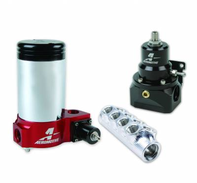 SHOP BY PART - Lift Pumps - Aeromotive Fuel System - Aeromotive Fuel System Kit, Fuel System, Billy Glidden Signature 17253