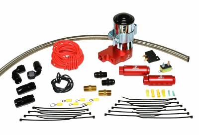 SHOP BY PART - Lift Pumps - Aeromotive Fuel System - Aeromotive Fuel System SS Series Pump Kit (11203 pump, hose, hose ends, fittings, filters;wiring kit) 17122