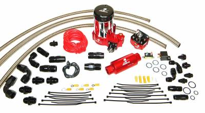 SHOP BY PART - Lift Pumps - Aeromotive Fuel System - Aeromotive Fuel System A2000 Complete Drag Race Fuel System Single Carb(11202 pump, 13201 reg., lines) 17203