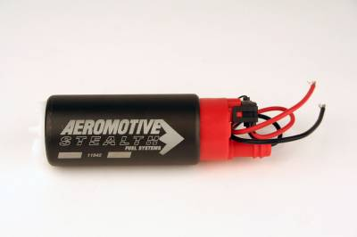 SHOP BY PART - Lift Pumps - Aeromotive Fuel System - Aeromotive Fuel System 340 Series Stealth In-Tank Fuel Pump, offset inlet 11542