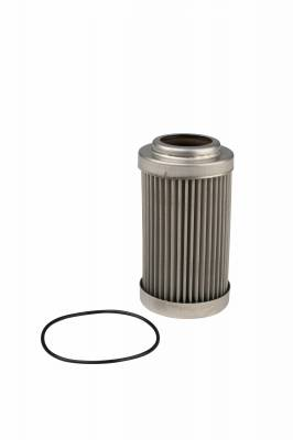 Fuel System - Filters - Aeromotive Fuel System - Aeromotive Fuel System Filter Element, 40 Micron Stainless Steel (Fits 12335) 12635