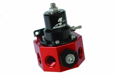 Fuel System - Fuel Pressure Regulators - Aeromotive Fuel System - Aeromotive Fuel System Double Adjustable Carbureted Regulator for Belt Drive Fuel Pump 13209