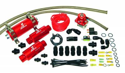 Aeromotive Fuel System - Aeromotive Fuel System 700 HP EFI Fuel System,(11106 pump, 13109 regulator, fittings and o-rings) 17136