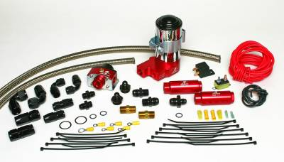SHOP BY PART - Lift Pumps - Aeromotive Fuel System - Aeromotive Fuel System Complete SS Series System(17122 Pump Kit) plus (17120 Carb. Regulator Kit) 17201