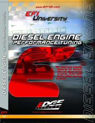 SHOP BY PART - Chips, Tuners, and Monitors - Edge Products - Edge Products EFI University Diesel Engine Performance Tuning DVD 99010