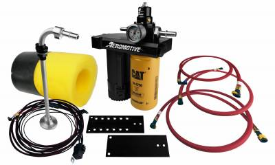 FUEL INJECTION SYSTEM - LIFT PUMPS - Aeromotive Fuel System - Aeromotive Fuel System 01-10 Duramax Complete Kit 11801