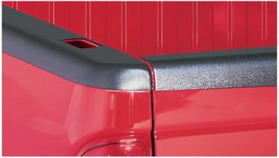 Exterior - Truck Bed Side Rail Protectors - Bushwacker - Bushwacker BED RAIL CAPS 58501