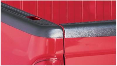 Exterior - Truck Bed Side Rail Protectors - Bushwacker - Bushwacker BED RAIL CAPS 59501