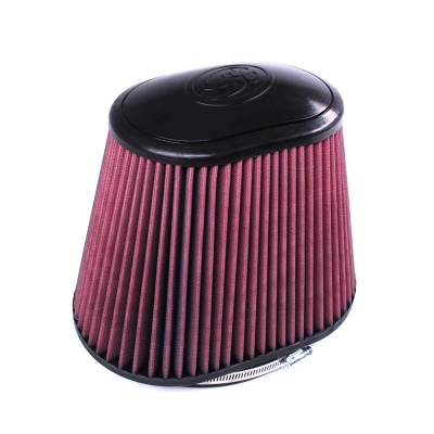 Air/Fuel Delivery - Filters - S&B Filters - S&B Filters Filter for Competitor Intakes Cross Reference: Banks 42158 (Cleanable, 8-ply) CR-42158