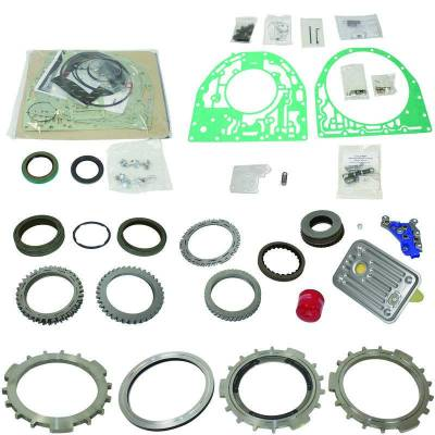 TRANSMISSION OPTIONS - AUTOMATIC COMPONENTS & OVERHAUL KITS - BD Diesel - BD Diesel Built-It Trans Kit Chevy 2000-2004 LB7 Allison Stage 4 Master Rebuild Kit 1062204