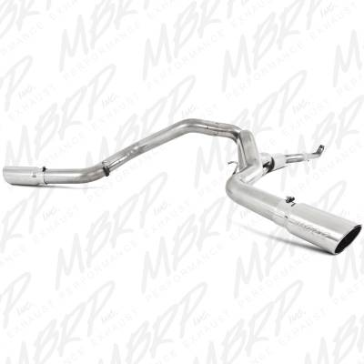 "SHOP BY PART - Exhaust System Kits - MBRP Exhaust - MBRP Exhaust 4"" Down Pipe Back, Cool Duals, Off-Road (includes front pipe), T409 S6006409"
