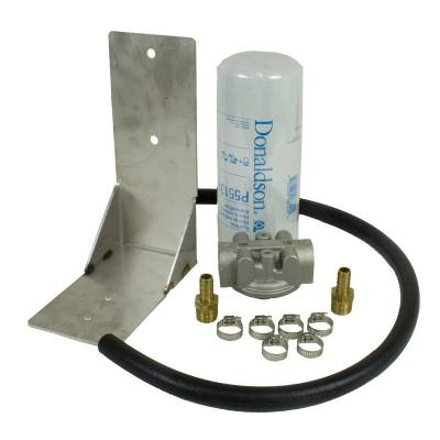 FUEL INJECTION SYSTEM - FUEL FILTERS - BD Diesel - BD Diesel Remote Fuel Filter Kit - 2001-2012 Chevy Duramax 1050060