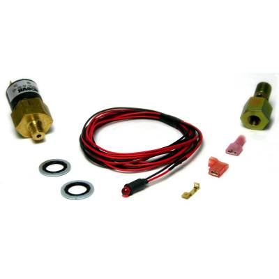 SHOP BY PART - Gauges - BD Diesel - BD Diesel Low Fuel Pressure Alarm Kit, Red LED - 1998-2007 Dodge 24-valve 1081130