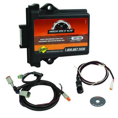 SHOP BY PART - Electronics - BD Diesel - BD Diesel High Idle Kit - Dodge 5.9L 1998.5-2002 24-valve / 2003-2004 CR w/Bell Crank APPS 1036620