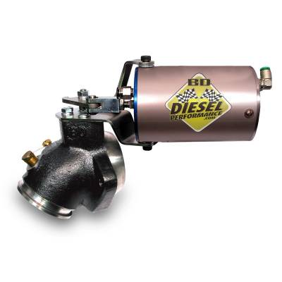SHOP BY PART - Exhaust Brakes - BD Diesel - BD Diesel Exhaust Brake - 1989-1998 Dodge 60psi Vac/Turbo Mount 2033135