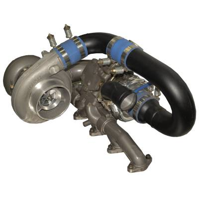 SHOP BY PART - Turbo Rebuild Kits - BD Diesel - BD Diesel R700 Tow & Track Turbo Kit w/FMW Billet Wheel on Secondary - Dodge 98-02 24-vlv 1045420