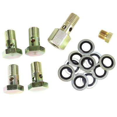 SHOP BY PART - Banjo Bolts - BD Diesel - BD Diesel Banjo Bolt Upgrade Kit - 2000-2002 Dodge 1050220