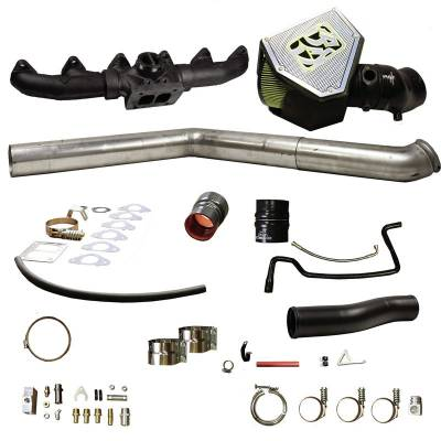 SHOP BY PART - Turbo Rebuild Kits - BD Diesel - BD Diesel Rumble B Turbo Install Kit, S400 - Dodge 2003-2007 5.9L 1045703
