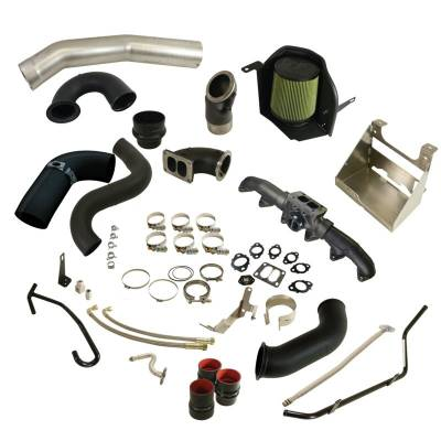 SHOP BY PART - BD-Power - BD Diesel - BD Diesel Cobra Turbo Install Kit w/S400 Secondary - Dodge 2003-2009 5.9L/6.7L 1045760