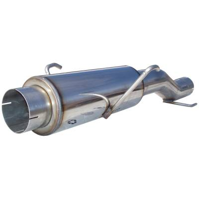 SHOP BY PART - Exhuast System Kits - MBRP Exhaust - MBRP Exhaust High-Flow Muffler Assembly, T409 MK96116