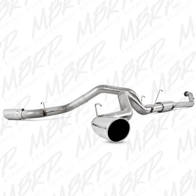 "SHOP BY PART - Exhuast System Kits - MBRP Exhaust - MBRP Exhaust 4"" Turbo Back, Dual Side Exit, T409 S6128409"