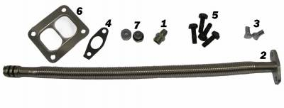 SHOP BY PART - Turbo Parts - Fleece Performance - Fleece Performance Cummins S300-S400 Turbo Installation Kit (2007.5-2012) FPE-TURBO-INST-KIT-CUMM67