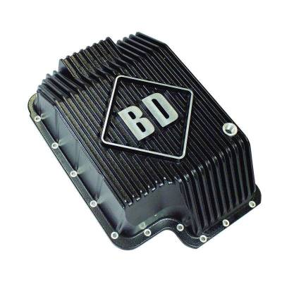 SHOP BY PART - Automatic Transmission Oil Pans - BD Diesel - BD Diesel Deep Sump Trans Pan - 1989-2010 Ford E4OD/4R100/5R110 1061716