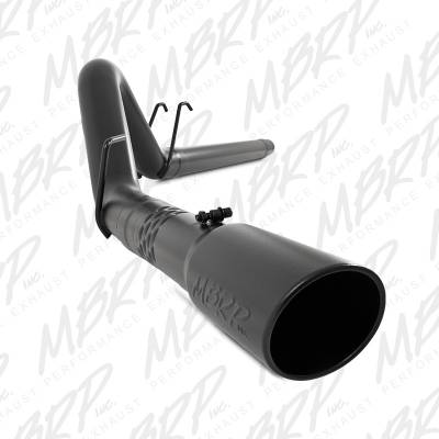 "SHOP BY PART - Exhaust System Kits - MBRP Exhaust - MBRP Exhaust 4"" Filter Back, Single Side Exit, Black Coated S6242BLK"