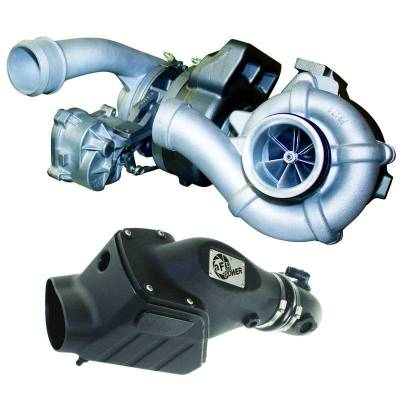 ENGINE & PERFORMANCE - TURBO UPGRADES - BD Diesel - BD Diesel Twin Turbo System, Performance - Ford 6.4L 2008-2010 c/w Air Intake Kit 1047080