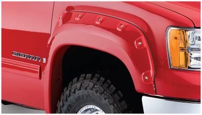 Exterior - Fender Flares - Bushwacker - Bushwacker FENDER FLARES CUTOUT STYLE 2PC 40105-02