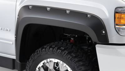 Exterior - Fender Flares - Bushwacker - Bushwacker FENDER FLARES POCKET STYLE 2PC 40133-02