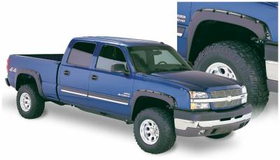 Exterior - Fender Flares - Bushwacker - Bushwacker FENDER FLARES POCKET STYLE 4PC 40918-02
