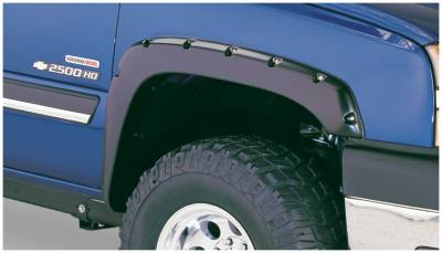 Exterior - Fender Flares - Bushwacker - Bushwacker FENDER FLARES POCKET STYLE 2PC 40059-02