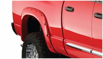 Exterior - Fender Flares - Bushwacker - Bushwacker FENDER FLARES POCKET STYLE 2PC 50018-02