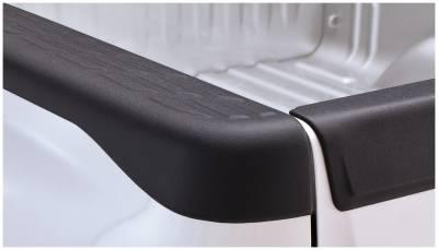 Exterior - Truck Bed Side Rail Protectors - Bushwacker - Bushwacker BED RAIL CAPS 49518