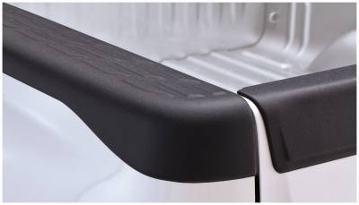Exterior - Truck Bed Side Rail Protectors - Bushwacker - Bushwacker BED RAIL CAPS 49524